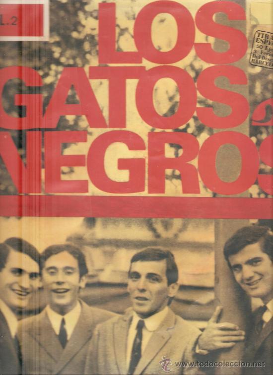 LP LOS GATOS NEGROS - VOL.2 (Música - Discos - LP Vinilo - Grupos Españoles 50 y 60)