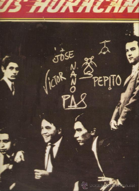 LP LOS HURACANES (Música - Discos - LP Vinilo - Grupos Españoles 50 y 60)