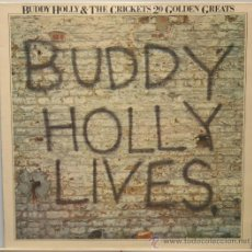 Discos de vinilo: BUDDY HOLLY & THE CRICKETS 20 GOLDEN GREATS LP MCA RECORDS. Lote 31765246