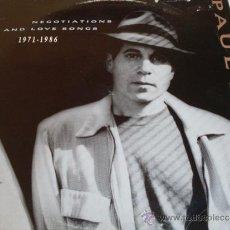 Discos de vinilo: PAUL SIMON - NEGOTIATIONS LOVE SONGS 1971 / 1986 - 2 LP. Lote 31766999