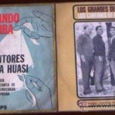 Discos de vinilo: 2 EP´S DE LOS CANTORES DE QUILLA HUASI EDICIÓN ARGENTINA. Lote 27076964