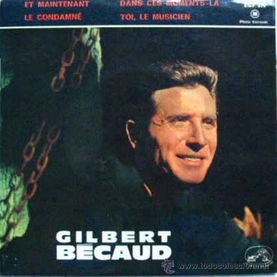 Discos de vinilo: Tres EPs franceses de Gilbert Becaud - Foto 3 - 31776458