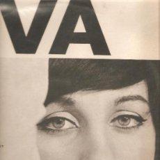 Discos de vinilo: LP EVA (RENE DUCHOSSOIR & JORGE MILCHBERG & BARBARA & G. MOUSTAKI & NICOLAS REMON ) ). Lote 31787114