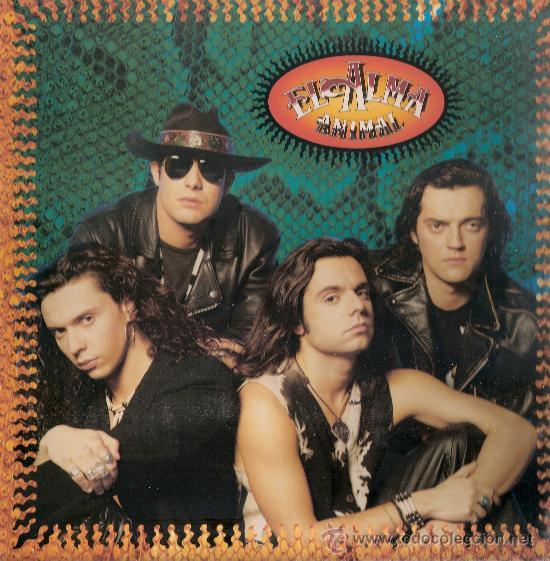 EL ALMA - ANIMAL (LP) HISPAVOX 1991 - EX/EX+ (Música - Discos - LP Vinilo - Grupos Españoles de los 90 a la actualidad)
