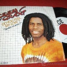 "Discos de vinilo: EDDY GRANT DO YOU FEEL MY LOVE?/SYMPHONY FOR MICHAEL 7"" SINGLE 1981 ICE PROMO REGGAE. Lote 31795751"