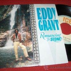 "Discos de vinilo: EDDY GRANT ROMANCING THE STONE/ MY TURN TO LOVE YOU 7"" SINGLE 1984 REGGAE. Lote 31795772"