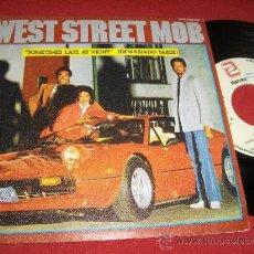 "Discos de vinilo: WEST STREET MOB SOMETIMES LATE AT NIGHT/ YOU'RE KILLING ME 7"" SINGLE 1982 ZAFIRO ED ESPAÑOLA. Lote 31795792"