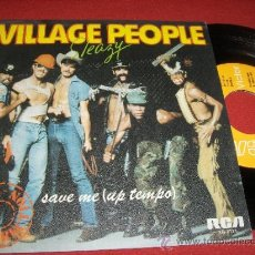 "Discos de vinilo: VILLAGE PEOPLE SLEZY/ SAVE ME 7"" SINGLE 1979 RCA ED ESPAÑOLA. Lote 31796335"