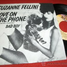 "Disques de vinyle: SUZANNE FELLINI BAD BOY/ LOVE ON THE PHONE 7"" SINGLE 1980 CASABLANCA ED ESPAÑOLA. Lote 31796818"