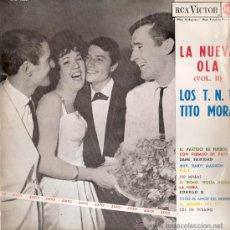 Discos de vinilo: LOS T.N.T. / TITO MORA - LA NUEVA OLA VOL. II (LP) RCA 1963 - VG++/VG++. Lote 31798954