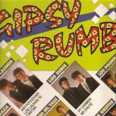 Discos de vinilo: LP GIPSY RUMBA : LOS LACHOS, RAZA, LOS SURIS, LOS GRIFFIS, LOS POCHOLOS, ETC . Lote 31801071