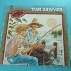 Discos de vinilo: TOM SAWYER DE MARK TWAIN. NARRACIÓN: MARÍA LUISA SECO. Lote 31811819