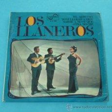 Discos de vinilo: LOS LLANEROS. EL ARBRITO. YO VI LLORAR A DIOS. SABOR A NO SE QUE. OTRA NOCHE. ZAFIRO. Lote 31827971