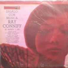 Discos de vinilo: LP ARGENTINO DE RAY CONNIFF CON SU ORQUESTA Y CORO AÑO 1960 REEDICIÓN. Lote 27180931