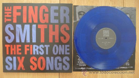 THE FINGERSMITHS THE FIRST ONE SIX SONGS MLP DEVIL RECORDS VINILO AZUL SOLO 100 COPIAS (Música - Discos - LP Vinilo - Punk - Hard Core)