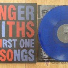 Discos de vinilo: THE FINGERSMITHS THE FIRST ONE SIX SONGS MLP DEVIL RECORDS VINILO AZUL SOLO 100 COPIAS . Lote 31818073