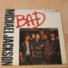Discos de vinilo: MICHAEL JACKSON / LP BAD / CBS, S.A. 1987. Lote 31835193