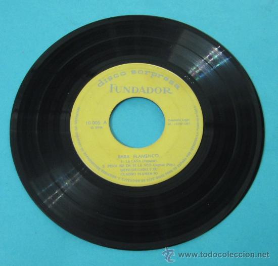 GOYO DE CÁDIZ Y SU CUADRO FLAMENCO: QUE VENIMOS DE LINARES. SEVILLANAS. LA CAÑA. DISCO SORPRESA (Música - Discos de Vinilo - EPs - Flamenco, Canción española y Cuplé)