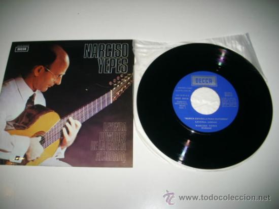 Discos de vinilo: NARCISO YEPES Leyenda / Rumores de la caleta / Alborada (1960 DECCA) COMO NUEVO - Foto 3 - 31922369