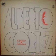 Discos de vinilo: LP DE ALBERTO CORTÉZ AÑO 1979 EDICIÓN ARGENTINA. Lote 26514225