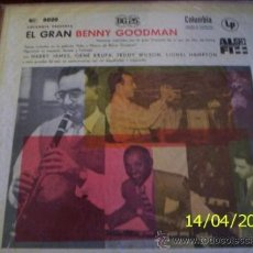 Discos de vinilo: LP ARGENTINO DE BENNY GOODMAN AÑO 1956. Lote 26755287