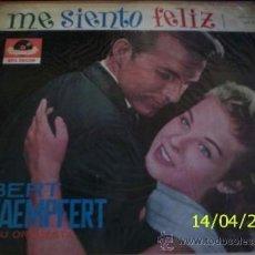 Discos de vinilo: LP DE BERT KAEMPFERT Y SU ORQUESTA AÑO 1962 EDICIÓN ARGENTINA. Lote 26913651