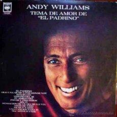 Discos de vinilo: LP ARGENTINO DE ANDY WILLIAMS AÑO 1972. Lote 27343651