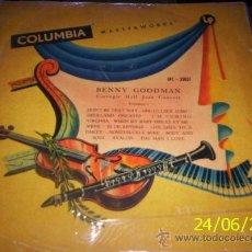 Discos de vinilo: LP CHILENO DE BENNY GOODMAN AÑO 1953. Lote 27524593