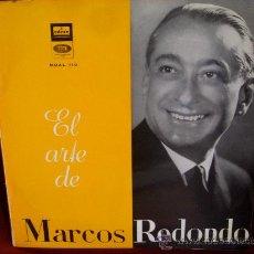 Discos de vinilo: EL ARTE DE MARCOS REDONDO. Lote 31847555
