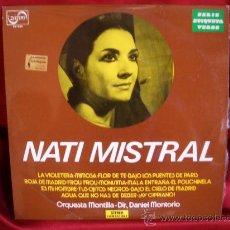 Discos de vinilo: NATI MISTRAL. Lote 31848033