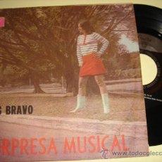 Discos de vinilo: LOS BRAVO -EP- LA BATEA + 3 - RARE SON CUBANO OR CUBA 60'S. Lote 31853078