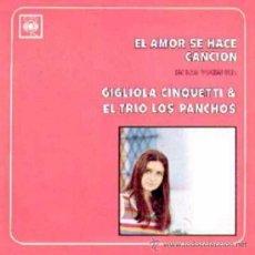 Discos de vinilo: LP DE GIGLIOLA CINQUETTI Y TRÍO LOS PANCHOS CANTADO EN ESPAÑOL AÑO 1968 EDICIÓN ARGENTINA. Lote 26284254