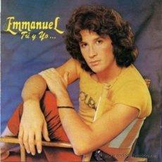 Discos de vinilo: LP ARGENTINO DE EMMANUEL AÑO 1982. Lote 26355801