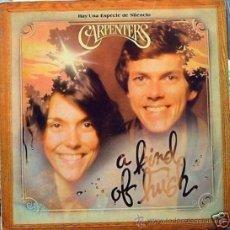 Discos de vinilo: LP DE CARPENTERS AÑO 1976 EDICIÓN ARGENTINA. Lote 26419932
