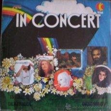 Discos de vinilo: LP ARGENTINO DE ARTISTAS VARIOS IN CONCERT AÑO 1980. Lote 26531023