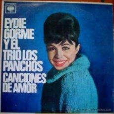 Discos de vinilo: LP ARGENTINO DE EYDIE GORME Y TRÍO LOS PANCHOS AÑO 1964 ORIGINAL EN MONO. Lote 26575129