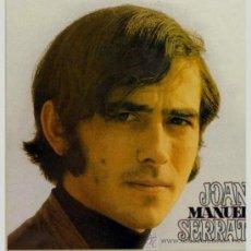 Discos de vinilo: LP DE JOAN MANUEL SERRAT AÑO 1969 EDICIÓN ARGENTINA. Lote 27455602