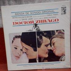 Discos de vinilo: LP ARGENTINO DE LA PELÍCULA DOCTOR ZHIVAGO AÑO 1965. Lote 27481875