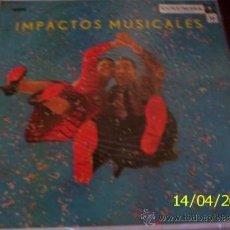 Discos de vinilo: LP DE VARIOS ARTISTAS IMPACTOS MUSICALES AÑO 1958. Lote 27565032
