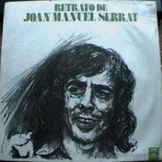 Discos de vinilo: LP RECOPILATORIO DE JOAN MANUEL SERRAT AÑO 1975 EDICIÓN ARGENTINA. Lote 26265165