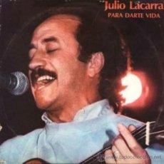 Discos de vinilo: LP ARGENTINO DE JULIO LACARRA AÑO 1984. Lote 26355802