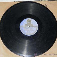 Discos de vinilo: ANTIGUO DISCO DE PIZARRA, FANDANGOS, POR EL GUERRITA, FLAMENCO, ACOMPAÑADO POR EL GUITARRA MANOLO DE. Lote 31871655
