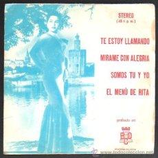 Discos de vinilo: SINGLE DE STEREO (JULIO LORENTE Y ROBERTO MILLER) - TE ESTOY LLAMANDO. MIRAME CON ALEGRIA. Lote 31874441