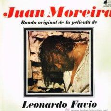 Discos de vinilo: JUAN MOREIRA - BSO DEL FILM DE LEONARDO FAVIO - LP 1973. Lote 31876172