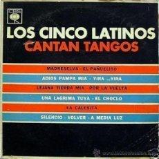 Discos de vinilo: LP DE LOS CINCO LATINOS AÑO 1964 EDICIÓN ARGENTINA. Lote 26805507