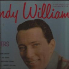 Discos de vinilo: LP-ANDY WILLIAMS-TWO TIME WINNERS-CADENCE 3026-USA-1960-. Lote 31894382