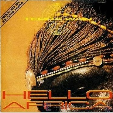 TERRA W.A.N. - HELLO AFRICA / AFRICAN BEATS - MAXI-SINGLE METROPOL RECORDS - MRP-126-MX -ESPAÑA 1990 (Música - Discos de Vinilo - Maxi Singles - Étnicas y Músicas del Mundo)