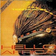 Discos de vinilo: TERRA W.A.N. - HELLO AFRICA / AFRICAN BEATS - MAXI-SINGLE METROPOL RECORDS - MRP-126-MX -ESPAÑA 1990. Lote 31894547