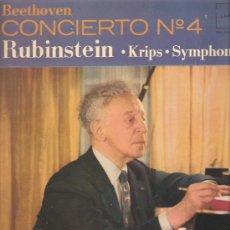 Discos de vinilo: LP BEETHOVEN & RUBINSTEIN . Lote 31897976