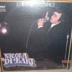 Discos de vinilo: LP DE NICOLA DI BARI AÑO 1979 CANTADO EN ESPAÑOL EDICIÓN ARGENTINA. Lote 26851699